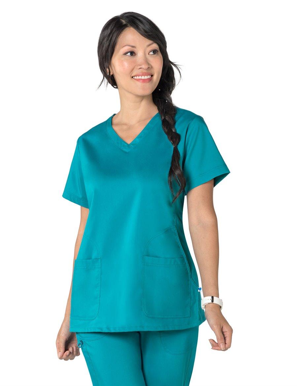 Nurse Mates Maci Top : TURQUOISE - Womens