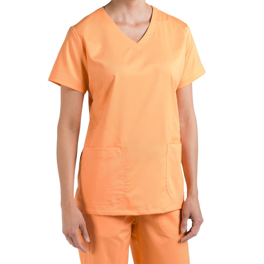 Nurse Mates Maci Top : Orange Sunset - Womens