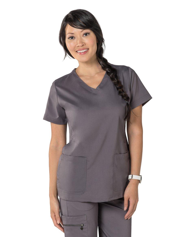 Nurse Mates Maci Top : Steel - Womens