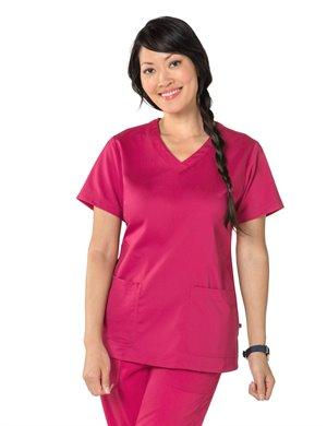 RASPBERY Nurse Mates Maci Top