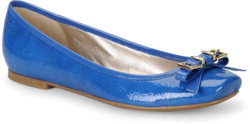 French Blue Patent Sofft Nalda