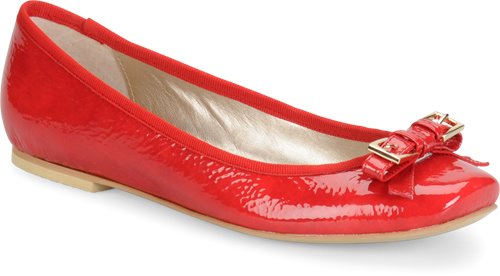 Cherry Red Patent Sofft Nalda