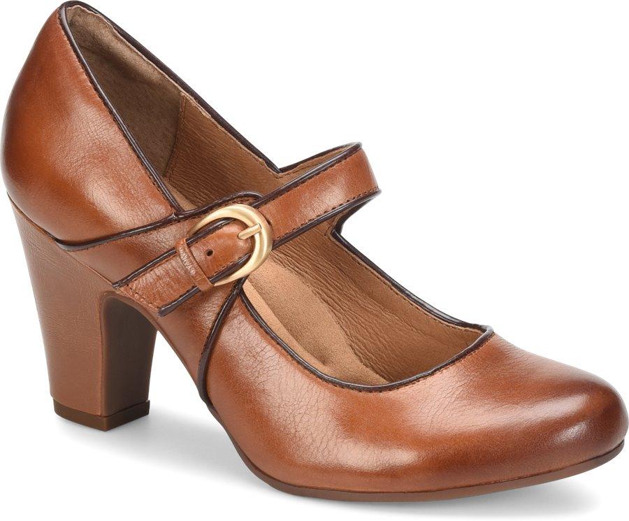 Sofft Miranda : Cork Sturdy Brown - Womens