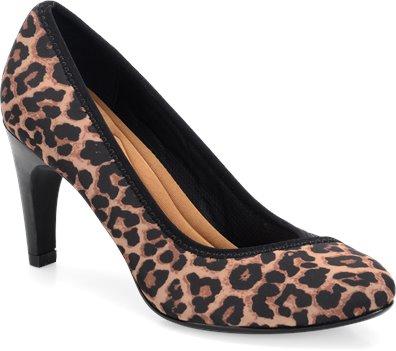 Tan Leopard Sofft Presley