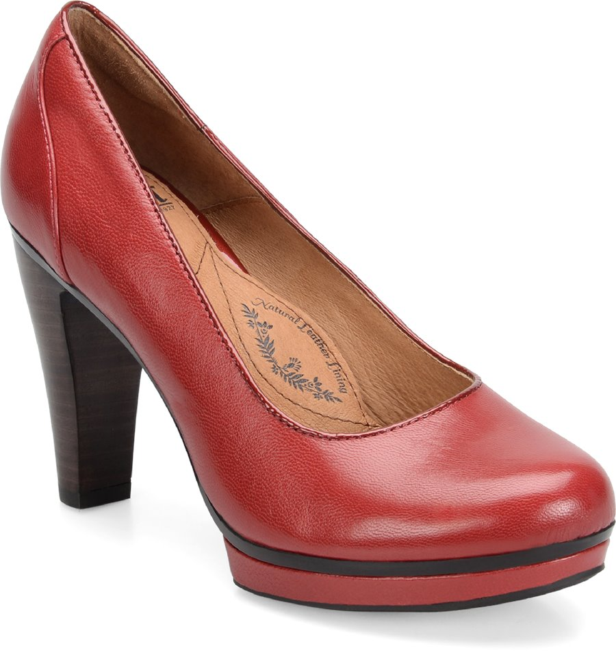 Sofft Mandy II : Red Hot - Womens