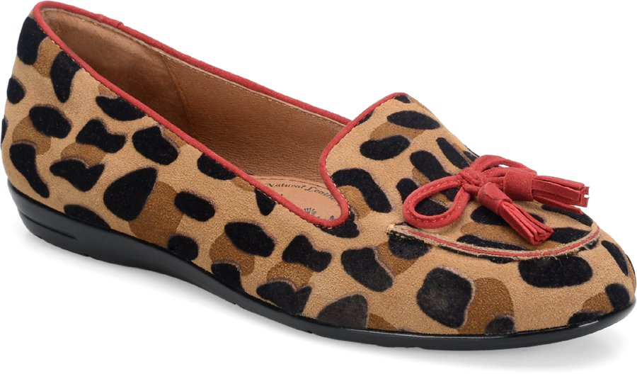 Sofft Novato : Tan/Red Hot - Womens