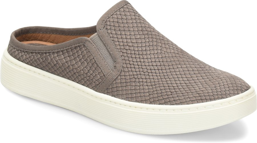 Sofft Somers Slide : Snare Grey - Womens