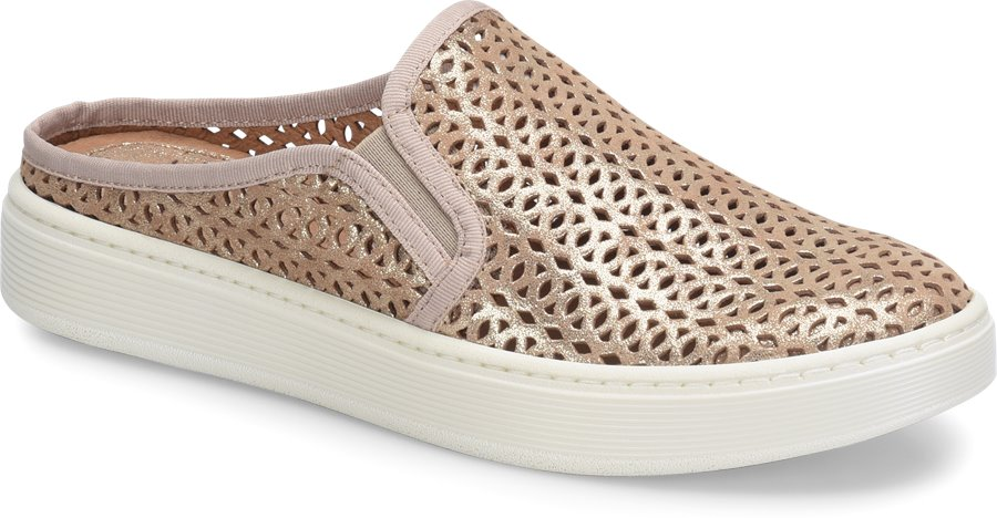 Sofft Somers II Slide : Soft Gold - Womens