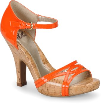 Mente Orange Patent Sofft Valeda