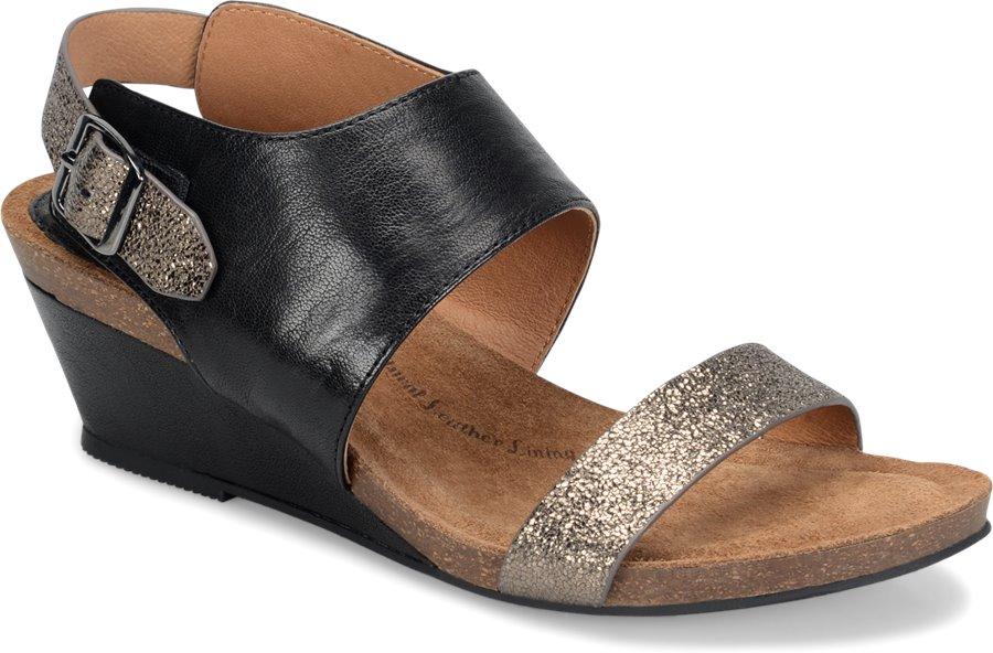 Sofft Vanita : Black/Copper - Womens