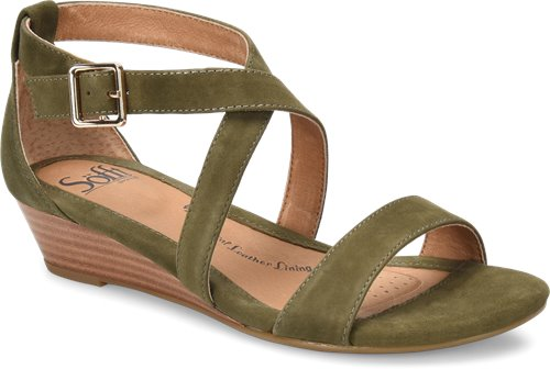 Olive Suede Sofft Innis