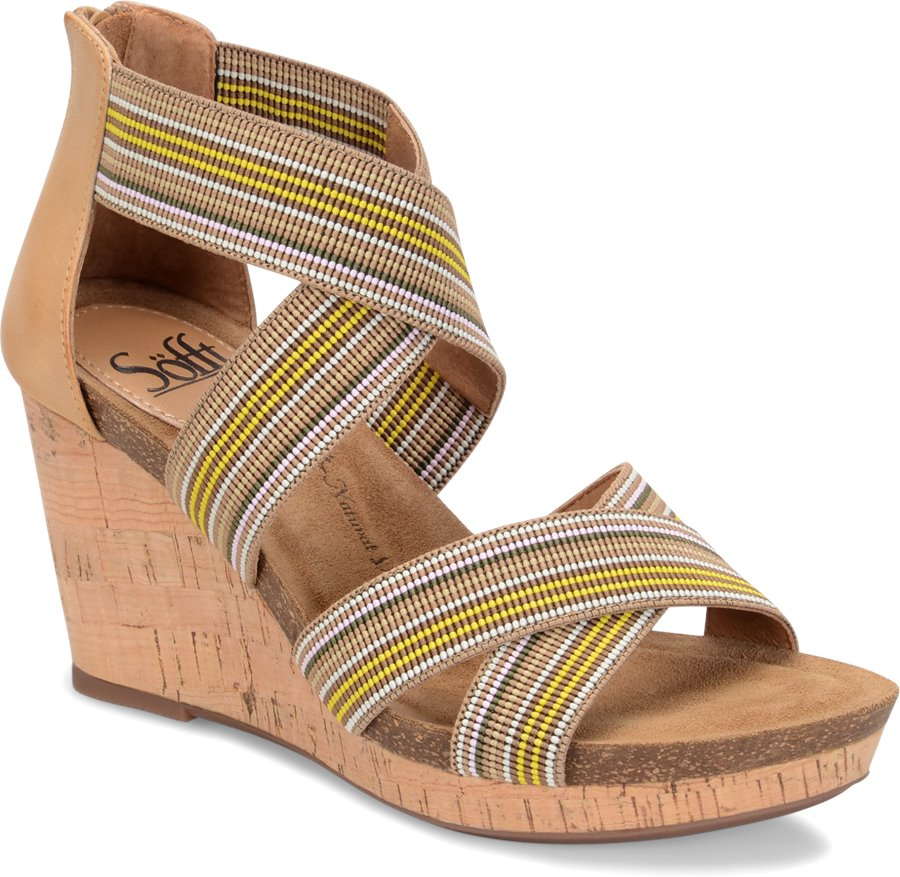Sofft Cary : Tan/Multi - Womens