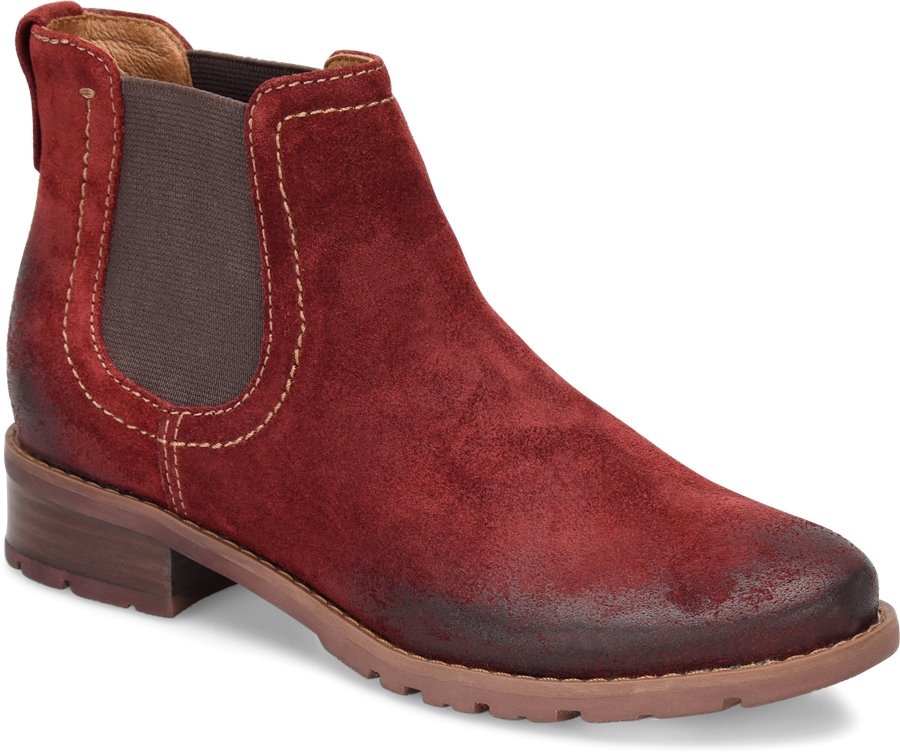 Sofft Selby : Bordo Suede - Womens