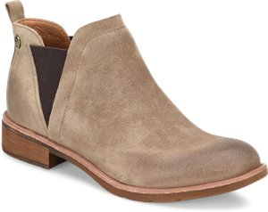 Light Grey Suede Sofft Bergamo
