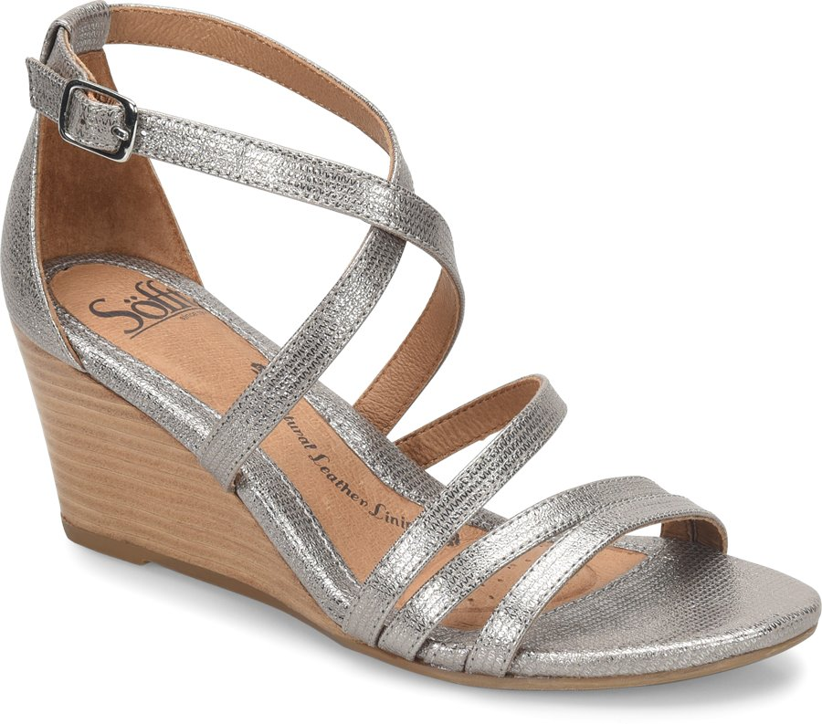 Sofft Mecina : Silver - Womens