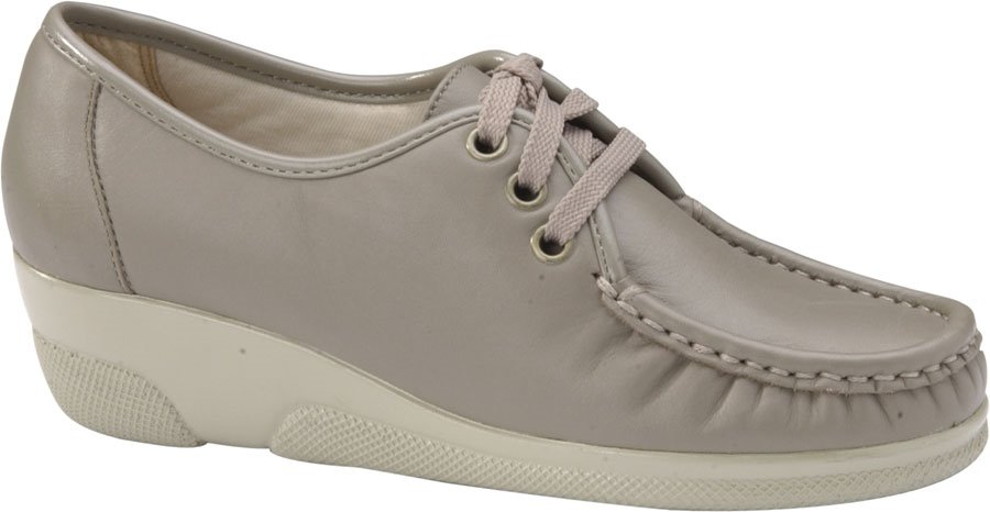 Softspots Annie Hi : Taupe - Womens