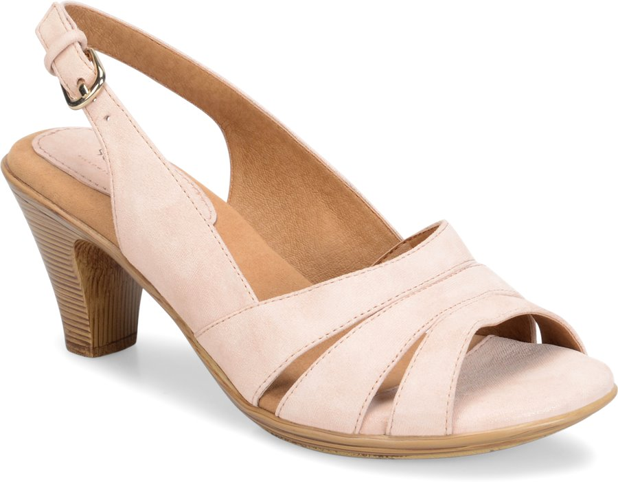 Softspots Neima : Washed Pink Suede - Womens