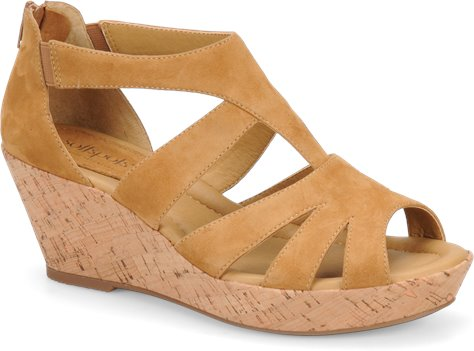Honey Suede Softspots Rhode
