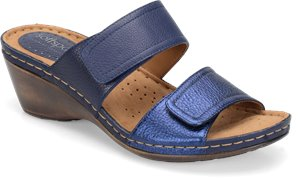 Sport Navy/Metallic Navy Softspots Panama