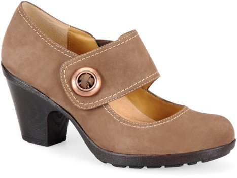 Brown Suede Softspots Cassidy