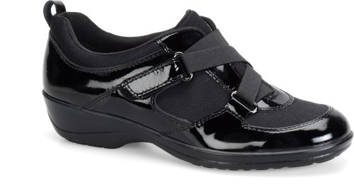 Black-Black Patent Softspots Alice