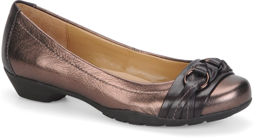 Softspots Posie : Copper Brownwood - Womens
