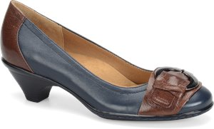 Navy Saddle Softspots Sarah