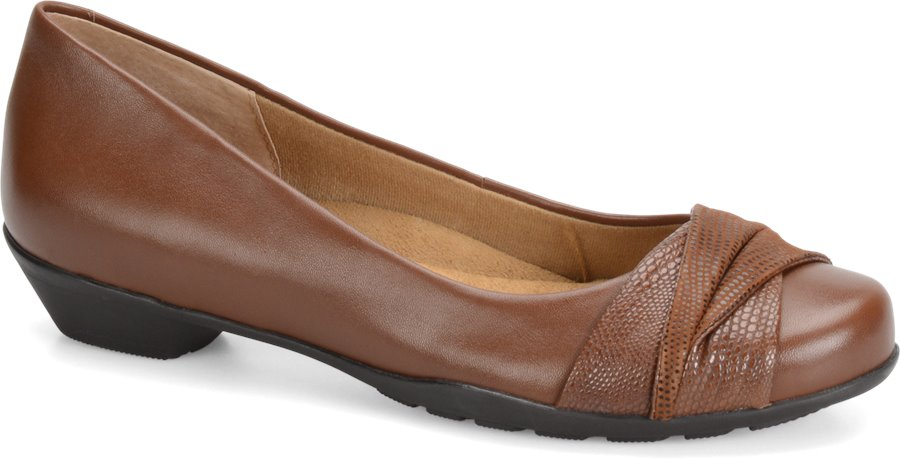 Softspots Paley : Tabacco-Cocoa Brown - Womens