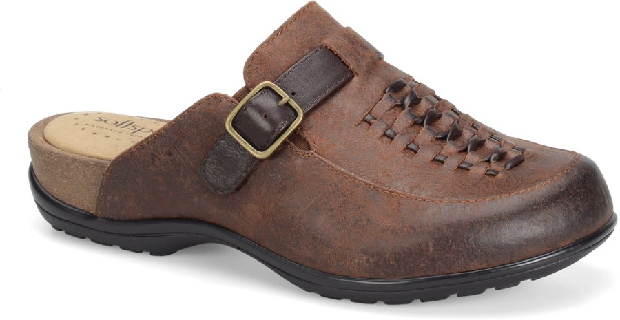 Softspots Cam : Drum Brown Brownwood - Womens