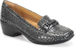 Pewter Croco Softspots Martina