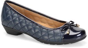 Arcadia Metallic Navy Softspots Panola