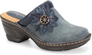 Denim Suede Softspots Lara